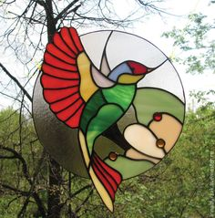 Stained Glass Angel, Stained Glass Ornaments, Stained Glass Birds, Stained Glass Suncatchers, Stained Glass Projects, Stained Glass Patterns Free, Glass Painting Designs, Simple Acrylic Paintings, Tiffany Glass