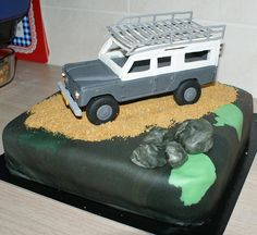 Range Rover Cake Designs