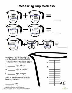 Teaspoons, Tablespoons, Cups, & Gallons. How many