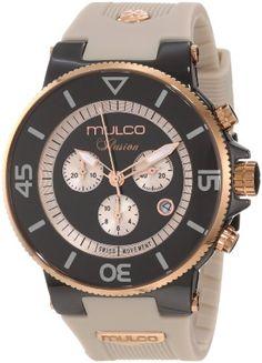 Mulco Unisex MW3-11009-095 Fashion Analog Swiss Movement with Silicone Band Watch $299.99