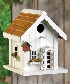 used this little bird house as a home in my Gnome Village, perfect size for my little gnomes.