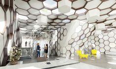 La ruche active - buro : rh+ architecture