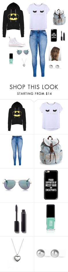 """Everyday Kinda Look"" by taytay-413 on Polyvore featuring Chicnova Fashion, City Chic, Aéropostale, Cutler and Gross, Casetify, Chanel, Jin Soon, Pandora, Snö Of Sweden and Converse"