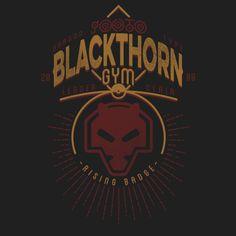Shop Blackthorn Gym johto t-shirts designed by Azafran as well as other johto merchandise at TeePublic. List Of Pokemon, Pokemon T, Cool Pokemon, Pokemon Merchandise, Cool Graphic Tees, Graphic Design, Gym Leaders, Gym Design, Pokemon Pictures