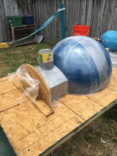 Top Dome Mold Build