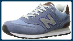 New Balance ML 574 BCD Schuhe chambray-grey-tan - 39,5 - Sneakers für frauen (*Partner-Link)