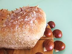 pão de castanhas