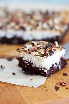 Coconut Magic Brownie Bars