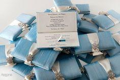 Partecipazioni luxury chic per un matrimonio in stile mediterraneo