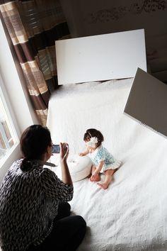 Do-it-yourself Babyfotos zuhause selbst machen