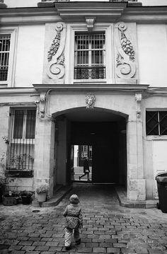 rue des Archives - Paris 3ème/4ème... Le 62 rue des Archives (côté cour)