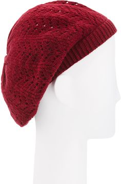 3dd179dbf2d Sweater-Knit Pom-Pom Beanie for Women