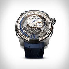 3a2df08f73e HYT é uma marca de relógios suíços que cria relógios mecânicos híbridos…  Relogio Mecanico