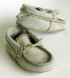 Soft Soled, Suede Leather Moccasins for Toddlers 18-24 Months! I need a baby lol