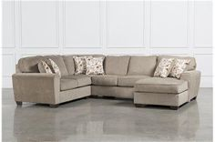 Patola Park 4 Piece Sectional W/Raf Corner Chaise - Main