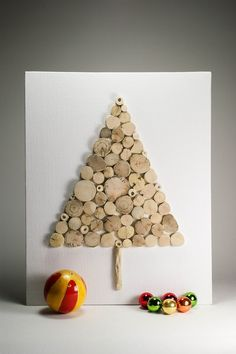X-mas decoratie kerstboom DIY