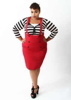 Domino Dollhouse Plus Size Clothing Show Some Love Top