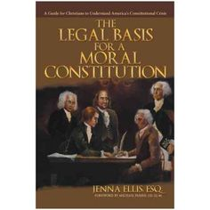 This is the excellent book written by our guest Dr. Jenna Ellis, a constitutional law attorney.
