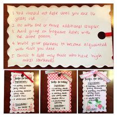LDS Youth Dating Handout: Recipe for successful dating {for the youth}! Ingredients on the front, directions on the back. Source: LDS.org  Instead of typing it out, I chose to hand write it since that's what I do for recipes I use! #ldsdating #ldsdatinghandout #recipefordating #recipeforsuccessfuldating #youthmarriagelesson