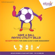 Queuing to pay #utility bills is a self-punishment.Get smart and have a ball with elivio's#HomeManagement.  Score #100HappyPoints every time you pay #bills worth Rs.200 for #phone, #electricity, #Gas, #DTH, #Data Card. Score more to win the #elivio #happypoints #contest   Queuing to pay #utility bills is a self-punishment.Get smart and have a ball with elivio's#HomeManagement.  Score #100HappyPoints every time you pay #bills worth Rs.200 for #phone, #electricity, #Gas, #DTH, #Data…