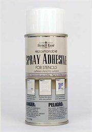 Stencil Ease Repositionable Stencil Adhesive Spray - 4.4 ... https://www.amazon.com/dp/B008FP2RBM/ref=cm_sw_r_pi_awdb_x_x2.lzbECRE34Y
