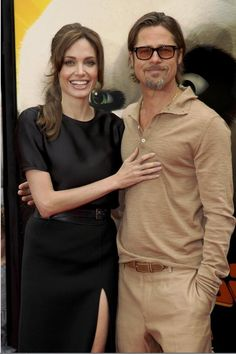 Angelina Jolie and Brad Pitt - they are in a class of their own
