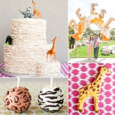 We see a lot of adventurous birthday party themes for little boys, but who says girls can't also get in on ...