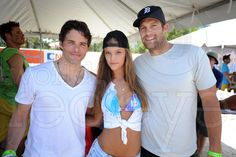 Miami Beach, FL – February 7, 2013 – #SportsIllustrated #supermodel #NinaAgdal with #JamesMarsden & #GeoffStults at last year's #ModelBeachVolleyball. She'll be back in #SouthBeach this weekend for the 2013 tournament. MORE PHOTOS - http://worldredeye.com/2013/02/flashback-model-beach-volleyball-2012/