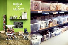 House of Objects reggio inspired recycling center