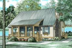 House Plan 110-00310 - Farmhouse Plan: 1,374 Square Feet, 3 Bedrooms, 2 Bathrooms