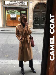 Estilo Birkenstock, Fall Winter Outfits, Autumn Winter Fashion, Style Parisienne, Simple Style, My Style, Camel Coat, Winter Looks, Winter Style