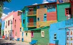Ah, the colors. La Boca.