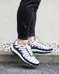 finest selection d1d7c 85896 Nike Air Max 97 Plus Navy
