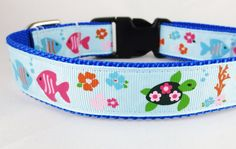 Medium Tropical Collar by SouthernWag on Etsy