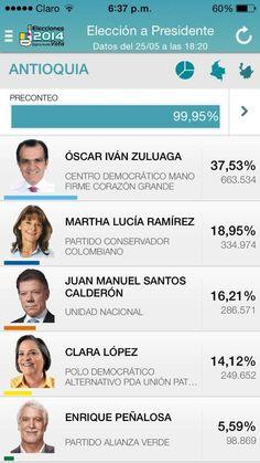 Antioquia le respondió a @Óscar Iván Zuluaga con frutos. Cada voto es por una gran amor a @Alvaro Uribe @Pao Holguin pic.twitter.com/4IvQZOmFgE