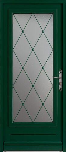 Porte battante / en bois / semi-vitrée GUÉRANDE BEL'M
