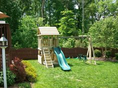 Image result for playset for small backyard