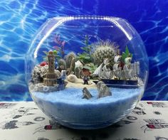 Beachfront terrarium