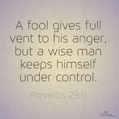 If you can't control your anger, its time to get professional help. Taking anger out on someone is abusive. Its not the other persons fault you lack self control The Words, Cool Words, Great Quotes, Quotes To Live By, Inspirational Quotes, Motivational, Bible Quotes, Me Quotes, Bible Art