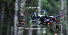 Win a Go Pro!!  >> Win a GoPro Karma™ Drone + Hero5™ Camera Pkg (a combined  value over $1200) now at KIALOA.