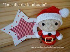 """La calle de la abuela: """"TELMO"""", el pequeño ayudante de Santa Claus Amigurumi Patterns, Amigurumi Doll, Crochet Ideas, Christmas Crafts, Christmas Decorations, Christmas Ornaments, Holiday Decor, Crochet Christmas, Crochet Dolls"""