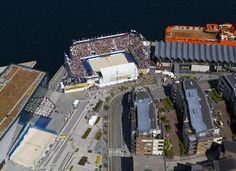 A special bird's-eye view of our 2nd stop Stavanger, Norway! We are back there June 9-14!