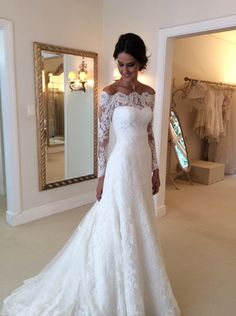 Wonderful Perfect Wedding Dress For The Bride Ideas. Ineffable Perfect Wedding Dress For The Bride Ideas. Lace Bridal, Bridal Gowns, 2016 Wedding Dresses, Dress Wedding, Dresses 2016, Wedding Ceremony, Wedding Venues, Prom Dresses, Cheap Dresses
