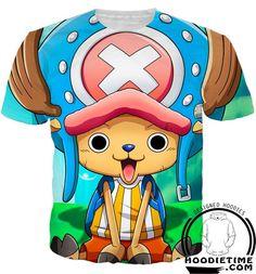 One Piece - Cute Chopper Hoodie - 3D Pullover Hoodie