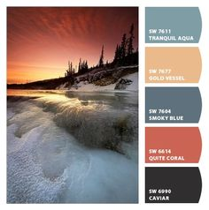 Alaska -  Paint colors from Chip It! by Sherwin-Williams