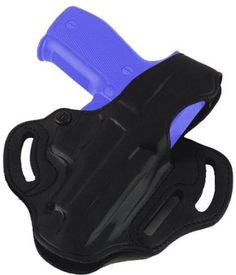 Galco Cop 3 Slot Holster for KAHR K40, K9 (Black, Right-hand) by Galco. $55.96. If you're looking for a serious, high-performance holster that won't break the bank, the Galco Cop Series is a great option.     Galco's Cop 3 Slot holster is precision-molded and allows comfortable carry in both strong side and crossdraw positions. A tension screw adjustment near the trigger guard facilitates maximum firearm retention, while the rear sight is protected by a wide sa...