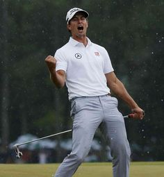 It doesn't get any more clutch than this guy.  Who needs Tiger??