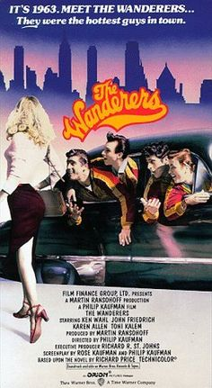 This is a movie, 'The  Wanderers' is from 1979 and its got a few fashion inspiration...I love colour of their jackets