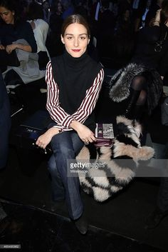 Olivia Palermo attends the Elie Saab show as part of the Paris... News Photo | Getty Images