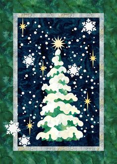 Oh Christmas Tree pattern at Quilt Fusion